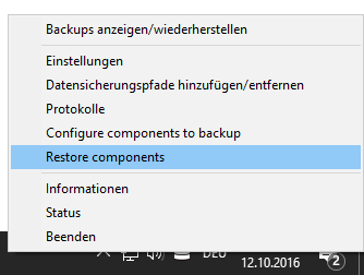 Oracle: How to backup and restore Oracle DB on Windows